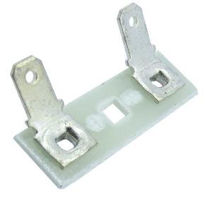 ponte para falante fibra de vidro terminais faston 45 4mm 580.084