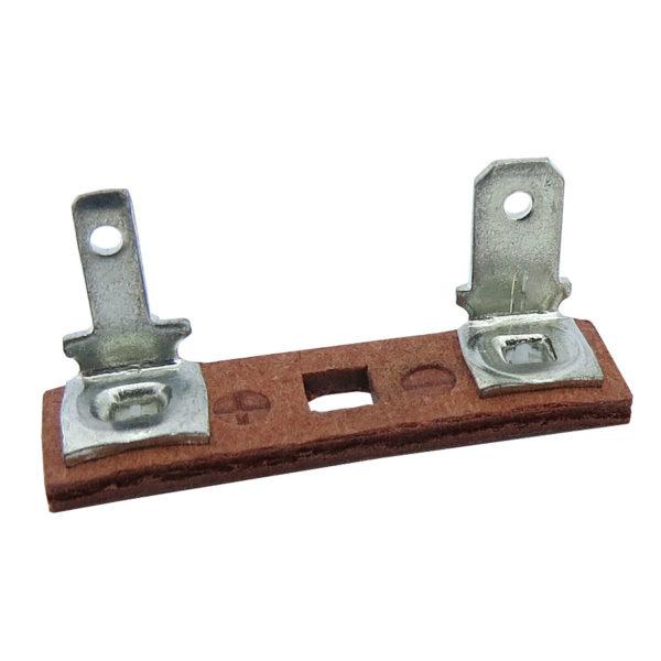 ponte para falante fibra vermelha terminais faston 90 2 e 4mm 580.059 02