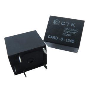 Relê Card-S-124D simples contato