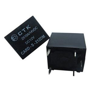 Relê Card-S-212DM duplo contato