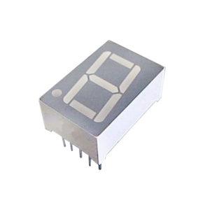 """Display LED 7 Segmentos Verde Esmeralda 0.56"""" Catodo Comum D148K-15G3-TL6"""
