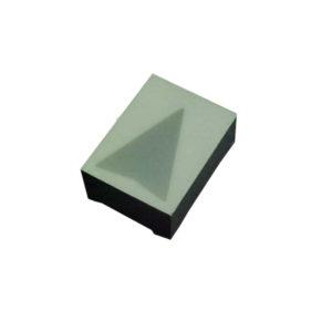 Display Led seta vermelho face branca 20x15mm D119SR