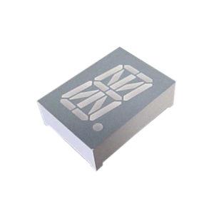 display led 16 segmentos alfanumerico azul 0.8 anodo comum D8X16AB 14BL