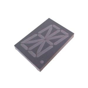 Display LED 16 Segmentos Alfanumérico Vermelho 2.3″ Anodo Comum D1236ASR