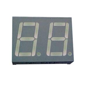 """Display LED Duplo 7 Segmentos Amarelo 0.56"""" Catodo Comum - D184KB-UY"""