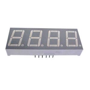 """Display LED Quadruplo 7 Segmentos Vermelho 0.56"""" Anodo Multiplexado - D4156ASR"""