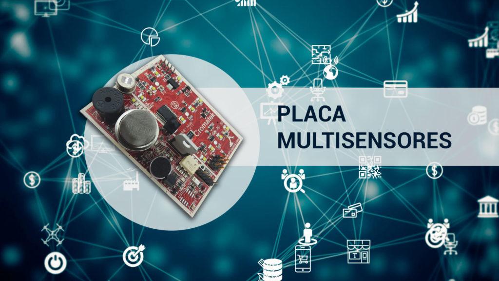 internet das coisas placa multisensores
