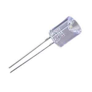 led pth 8mm contra conico branca fria encapsulamento hialino li2001whu 1012