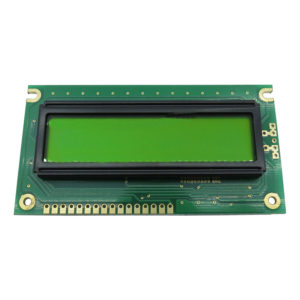 display lcd 16 caracteres 2 linhas sem backlight 84x44X9,7mm WH1602A-NYG-JT#020