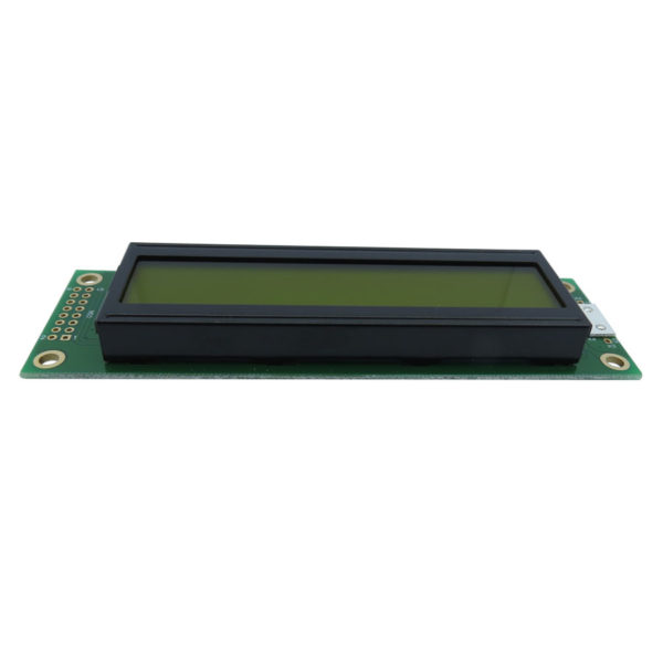 display lcd 20 caracteres 2 linhas backlight verde 116x37x13,9mm WH2002A-YYH-JT