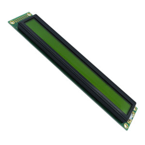display lcd 40 caracteres 2 linhas backlight verde 182x33,5x13,6mm WH4002A YYH JT#