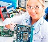 montagem de placas eletronicas