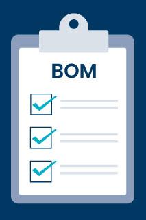 bom bill of materials